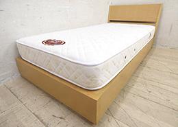 ビーズポケットマットレス シングルベッド