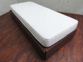 収納ベッド/高密度ポケットコイルマットレス